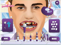 Justin Bieber Tooth Problema
